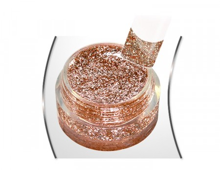 Glam Glitter gel Caramello Royale