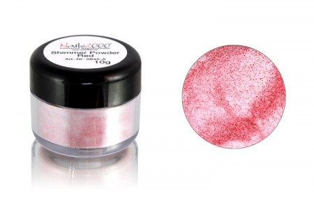 Shimmer Colour Powder Red