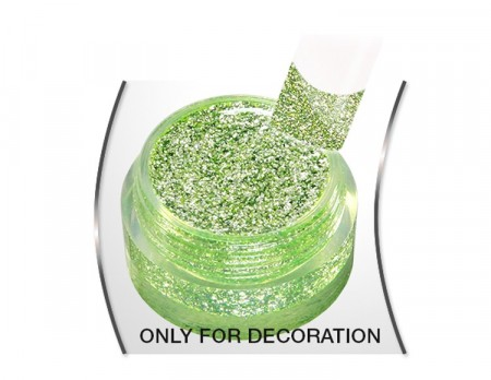 Glam Glitter gel Green Secco