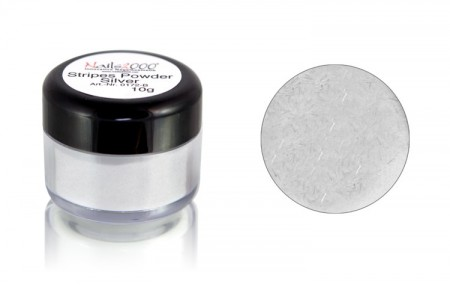 Stripes Powder Silver, 10g