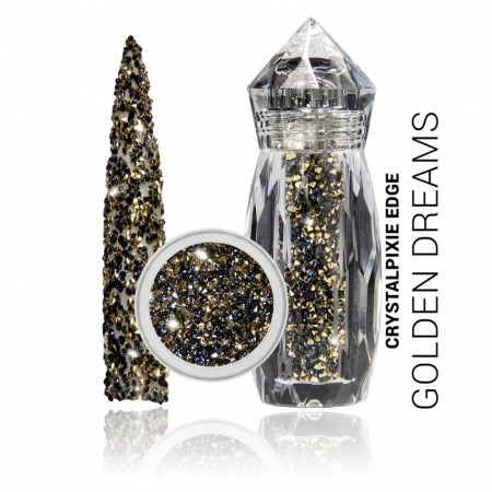Swarovski Crystalpixie Edge Golden Dreams